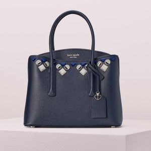 New Kate Spade margaux jeweled medium satchel